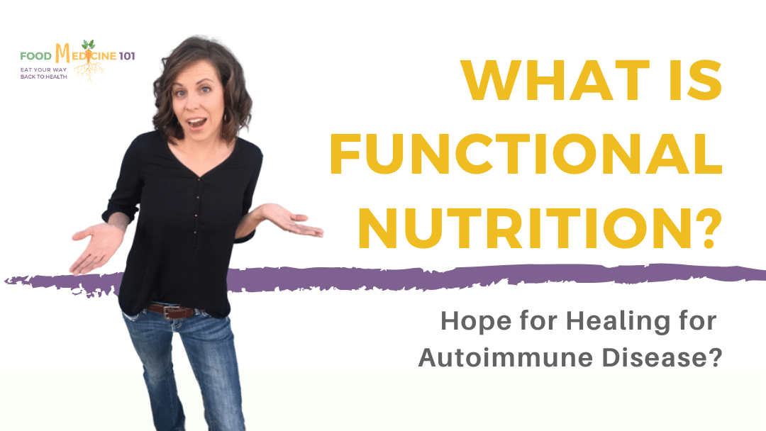 What is Functional Nutrition? Cheaper, Safer, Better?