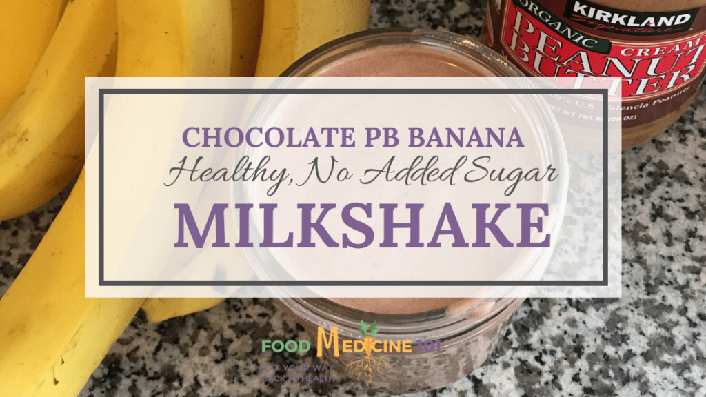 Healthy Chocolate Milkshake image