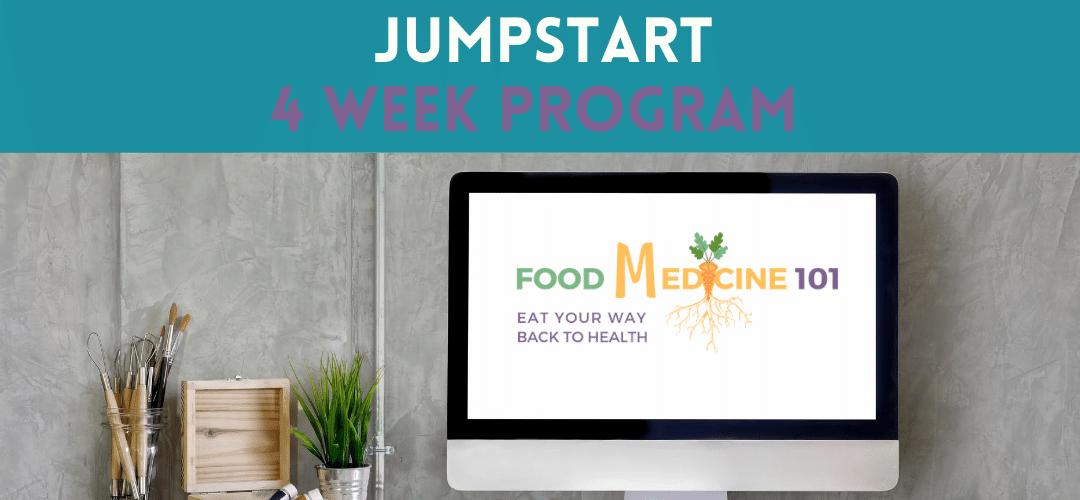 Food Medicine Jumpstart 4 Week Program by Heather Hall RDN, LD, CLT
