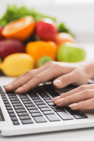 find a dietitian online