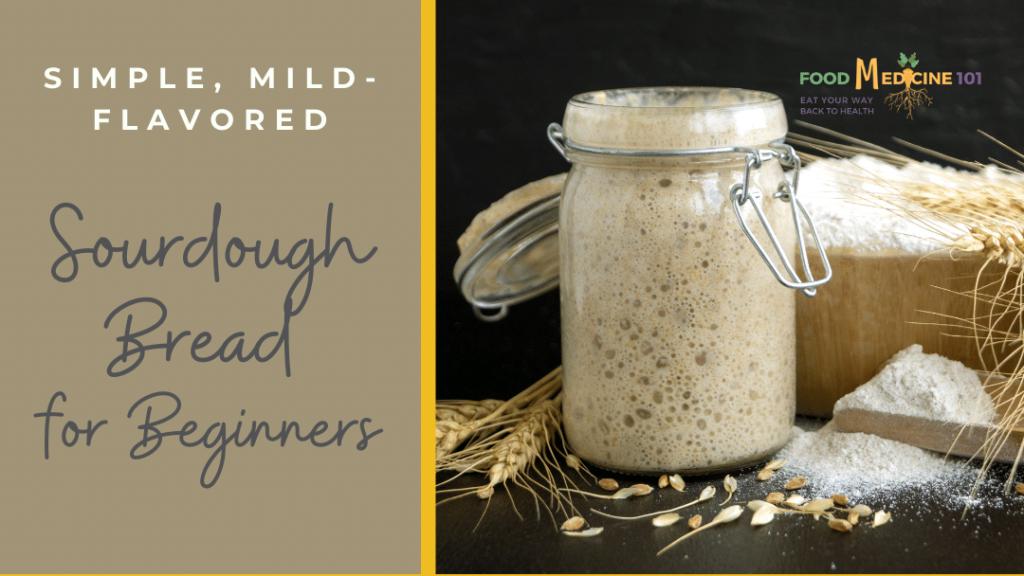 Sourdough bread recipe cover
