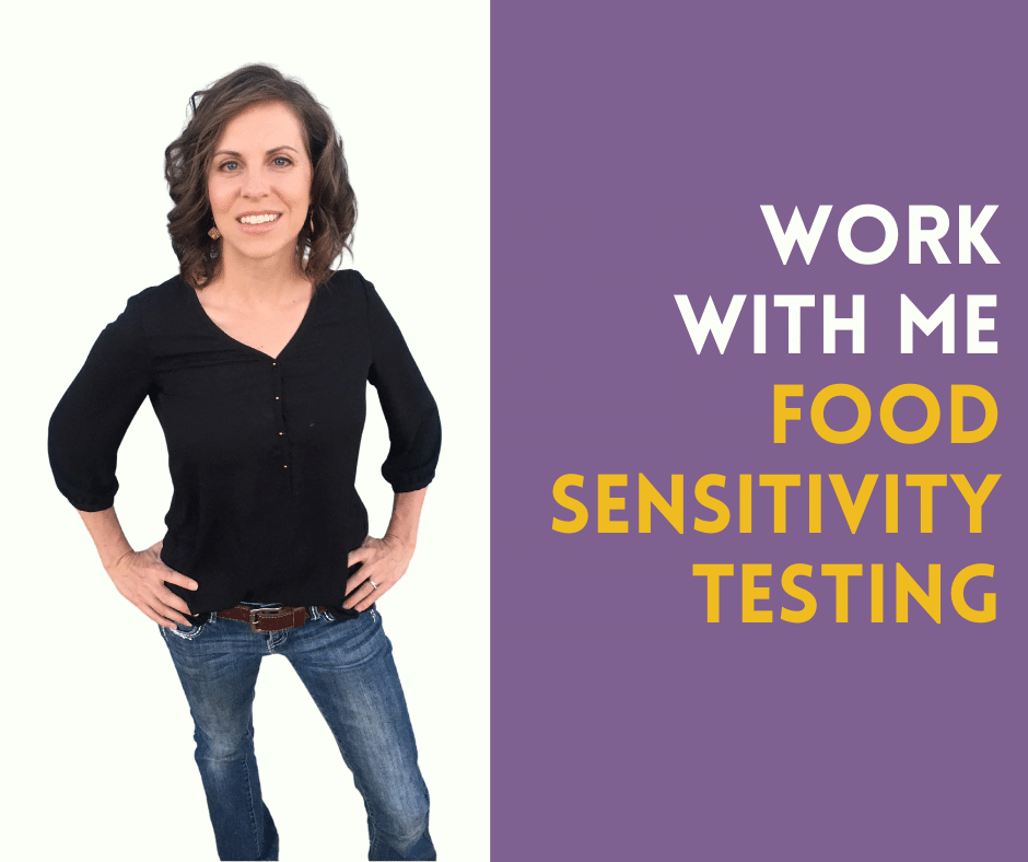 work with me food sensitivity testing button