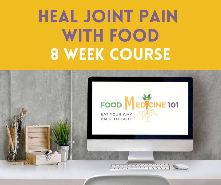 HEAL JOINT PAIN WITH FOOD COURSE BUTTON