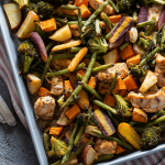 Chicken and Vegetables Sheet Pan Dinner