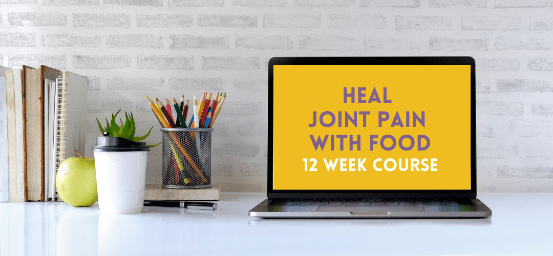 Improve Joint Pain with Food Course Header