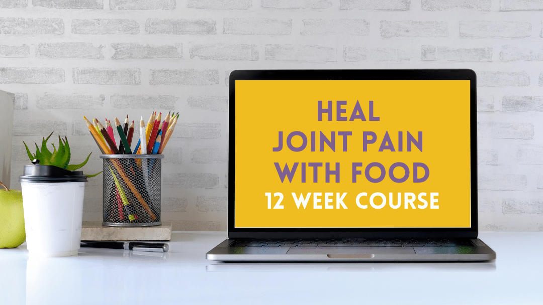 Heal Joint Pain with Food Course Icon