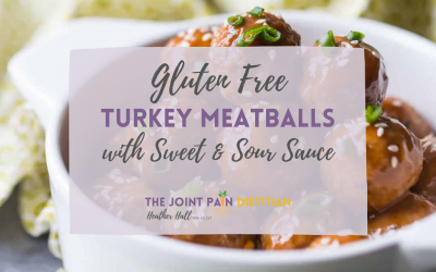 Gluten Free Turkey Meatballs with Sweet & Sour Sauce