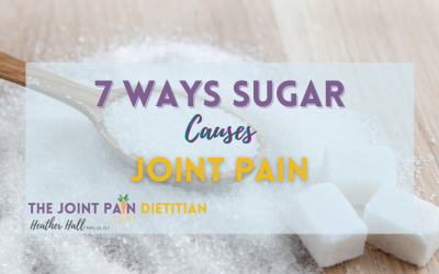 7 Ways Sugar Causes Joint Pain