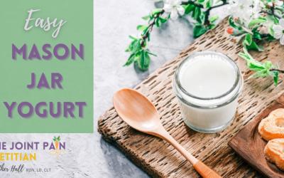 Easy Mason Jar Yogurt Recipe
